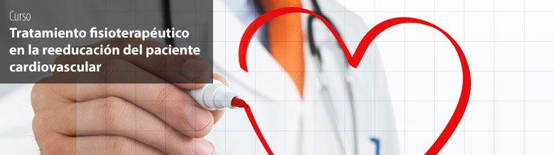 Curso de tratamiento fisioterapéutico para rehabilitación cardiaca
