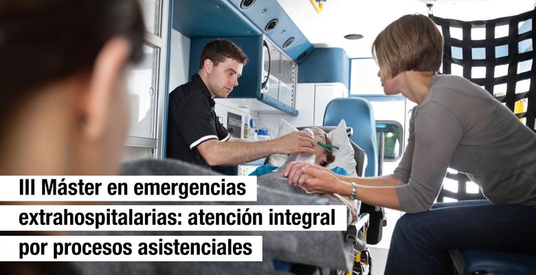 III Máster en Emergencias Extrahospitalarias