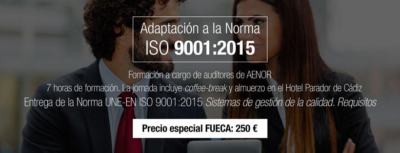 Cursos AENOR ISO 9001:2015