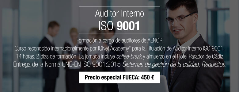 Cursos AENOR Auditor Interno ISO 9001