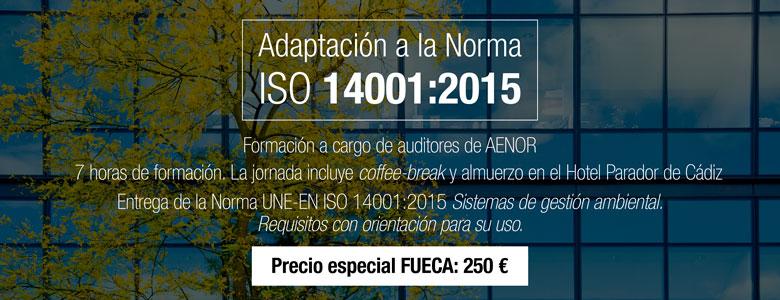Cursos AENOR ISO 14001:2015