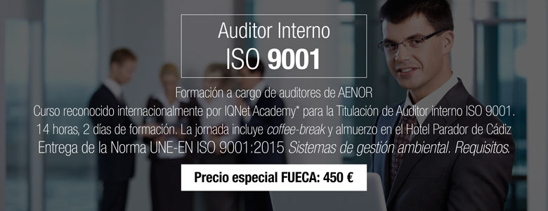 Curso AENOR Auditor Interno ISO 9001