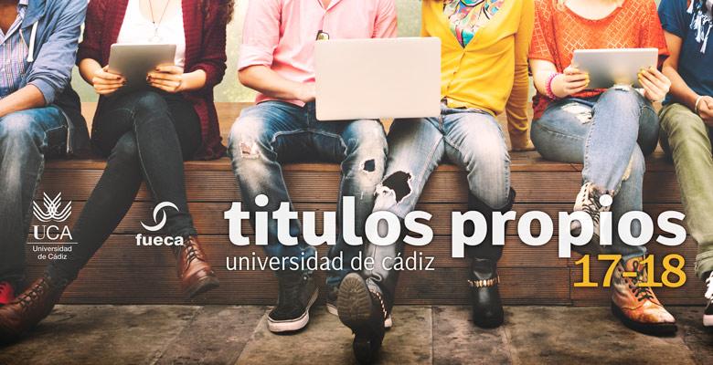 Títulos Propios de la Universidad de Cádiz